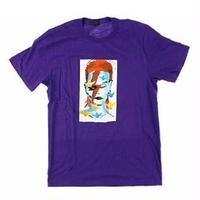 PRIME HERITAGE   GONZ  BOWIE  TEE   PURPLE
