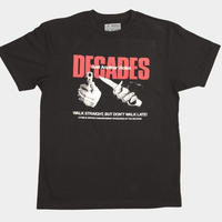 THE DECADES VICTIM TEE BLACK