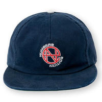 NUMBERS EDITION N.E TWILL 5-PANEL HAT-NAVY