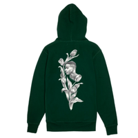 FUCKING AWESOME FLOWERS HOODIE-H,GREEN
