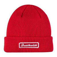 DEATH WISH DEATH SPRAY BEANIE-RED