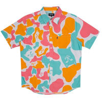 RIPNDIP OVERSIZE CAMO S/S BUTTON UP-MULTI