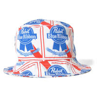 LAFAYETTE X PABST BLUE RIBBON  ALLOVER BUCKET HAT