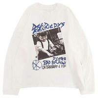 MGCT DK POSTER L/S TEE-WHITE