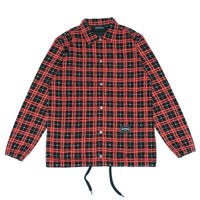 WASTED PARIS  TARTAN OVERSHIRT