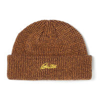 BUTTER GOODS SPECKLE BEANIE-BROWN