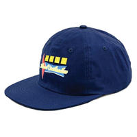 ILLIGAL CIVILIZATION  NEON LIGHTS SNAPBACK  NAVY