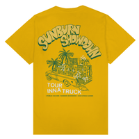 PUBLIC CULTURE SOUND SYSTEM TEE-YELLOW