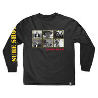 GIRLX BEASTIE BOYS SURE SHOT L/S TEE  BLACK