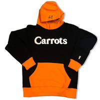 CARROTS WORDMARK HOODIE BLACK/ORANGE