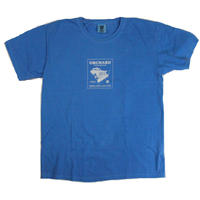 ORCHARD PLOWING TEE  OCEAN BLUE