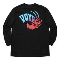 VOYAGE MAGIC HAND L/S TEE-BLACK