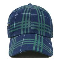 WASTED PARIS TARTAN CAP-BLU/GREEN