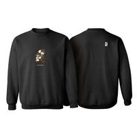 POETIC COLLECTIVE  STILL LIFE CREWNECK-BLACK