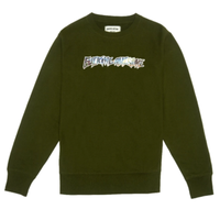 FUCKING AWESOME EXTINCTION CREWNECK-A,GREEN