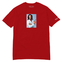 HOTEL BLUE YOUNGBLOOD TEE-RED