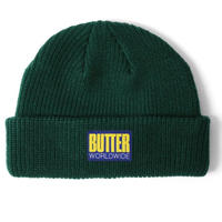 BUTTER GOODS HIKE WHARFIE BEANIE F,GREEN