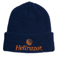 HELLRAZOR TRADEMARKLOGO WATCHCAP-NAVY