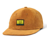 THOMAS CORDUROY 6 PANEL CAP- BROWN