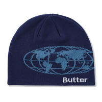 BUTTER GOODS ATLAS BEANIE - NAVY