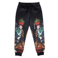 RIPNDIP BOUQUET SWEAT PANTS BLACK
