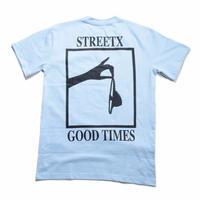 STREETX GOOD TIMES  TEE  POWDER BLUE