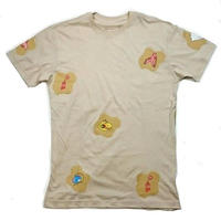 ILLEGAL CIVILIZATION DONT BE THIRSTY S/S TEE    BROWN