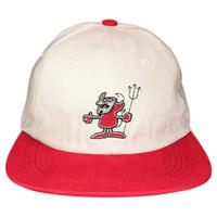 HELLRAZOR XBETTER  DEVIL HAT  RED/GREY