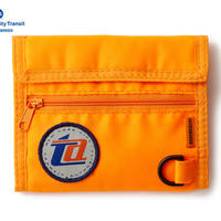 MTA X INTERBREED MTA NYLON WALLET ORANGE
