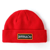BUTTER GOODS MENACE BEANIE-RED