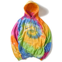 LAFAYETTE ARCH LOGO TIE DYED HOODED SWEATSHIRT-MULTI