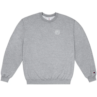 CLASSIC GRIP EMBROIDERED GLOW IN THE DARK CLASSIC GRIP CREWNECK-H,GREY