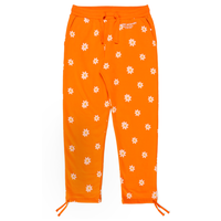 CARROTS XMARKMCNAIRY ALL OVER DAISY WORDMARK SWEATPANTS - ORANGE