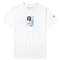 HOTEL BLUE YOUNGBLOOD TEE-WHITE