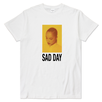 BROTHER HOOD SAD DAY TEE  WHITE