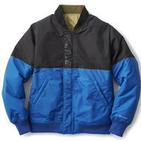INTERBREED OPPOSITE SIDES REVERSIBLE MA-1  OLIVE(BLACK X BLUE)