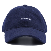TEALER BAD HABITS WOOL CAP-NAVY