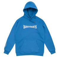 WASTED PARIS HOODIE LONDON REFRECTIVE BLUE