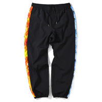 SAINTS&SINNERS FIRE&ICE TRACK PANTS-BLACK