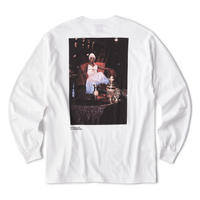 INTERBREED QUEEN L,BOOGIE L/S TEE-WHITE