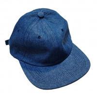 HOTEL BLUE ARCH LOGO EMBROIDERED CAP-BLUE DENIM