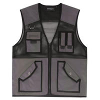 WASTED PARIS TACTICAL POCKETVEST-PETROL