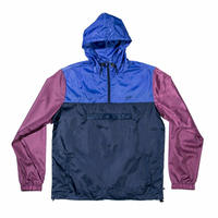 JHF HAPPY CAMPER JACKET  NAVY/BURGUNDY