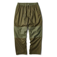 INTERBREED MIXED CHINO RELAX TROUSER-OLIVE