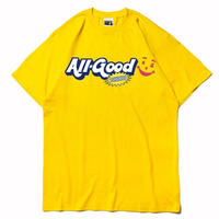 ALLGOODTHINGZ GOOD AID TEE-YELLOW