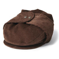 INTERBREED DOG EAR COUDUROY HUNTING-BROWN