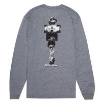 FUCKING AWESOME MARY'S  L/S TEE   GREY
