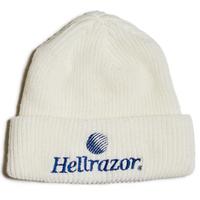 HELLRAZOR TRADEMARK LOGO WATCH CAP  WHITE