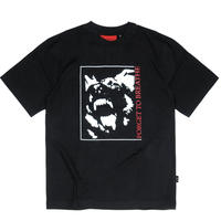 WASTED PARIS NOIRFORGET TO BREATH TEE BLACK
