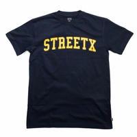 STREET X COLLEGE  TEE      NAVY